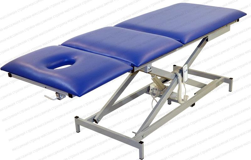 Массажный стол Профи 4.2 на Х раме с электроприводом